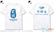 广西省南宁市第二中学2班简约文科班创意白色短袖班服