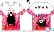 江西省南昌市某学校的熊本熊卡通可爱2班全身印班服
