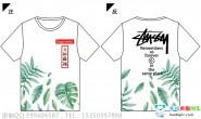 广东省惠州市第一中学6班植物小清新潮流全身印短袖班服