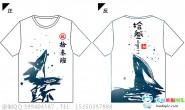 广东省河源市实验中学13班鲸鱼星空古风全身印短袖班服
