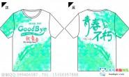 贵州省贵阳市第一中学定制的3班小清新青春全身印短袖班服