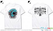 云南省普洱市实验中学初三19班创意霸气酷炫白色T恤