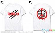安徽省安庆市梧桐中学高二19班霸气潮流炫酷白色T恤