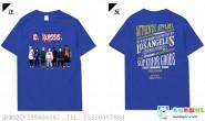 广东省佛山市禅城实验高级中学10班潮流个性创新深蓝色短袖班服