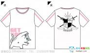 广东第二师范学院番禺附属初级中学2班卡通励志潮流猫猫图案全身印短袖