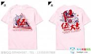 湖南省长沙市第一中学5班创意个性卡通粉色短袖