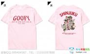 湖南省长沙市实验三中3班简约创意潮流粉色短袖