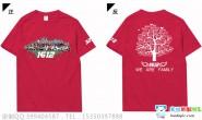 广西河池市环江毛南族自治县高级中学1612班照片泼墨拼名字毕业红色班服