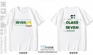 江西省抚州市第二中学7班励志书本太阳简约短袖班服
