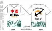 广西省桂林市十一中学250班爱国潮流励志熊猫小清新简约班服