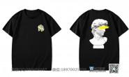 广东省广州市轻工职业学校定制的个性创意简约艺术装潢美术设计专业黑色短袖班服