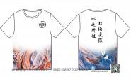 广东省茂名市第一中学定制的个性创意小清新中国风唯美卡通大鱼海棠海洋风18班全身印短袖班服