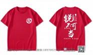 广西壮族自治区玉林市中学1班励志中考全胜泼墨红色短袖班服