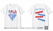 河南省洛阳市一高19班励志创意卡通搞笑口号年少有为钻石短袖班服