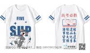 湖南省郴州市六中5班猫和老鼠创意高考必胜励志全身印短袖班服