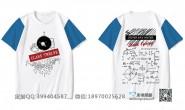 广东省惠州市第六中学定制的创意个性宇航员理科公式数学励志毕业蓝色插肩袖12班短袖班服