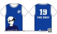 十九班蓝色全身印篮球服